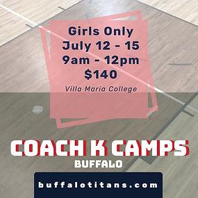 Coach K Buffalo