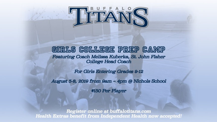 Girls College Prep Camp
