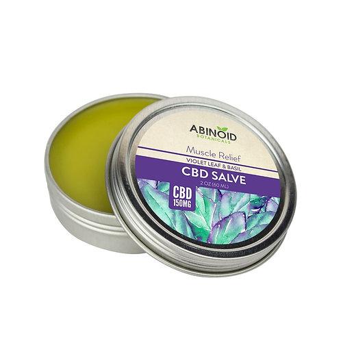 Hemp Extract [150 mg] Muscle Salve Violet Leaf & Basil 2oz