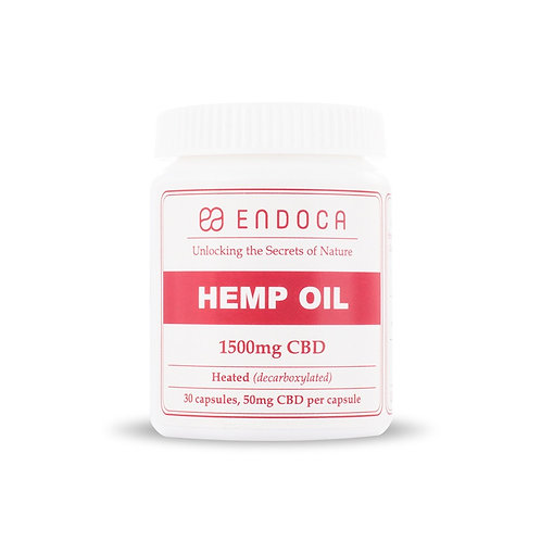 Endoca – CBD Capsules 30 Count (300mg - 1500mg CBD)