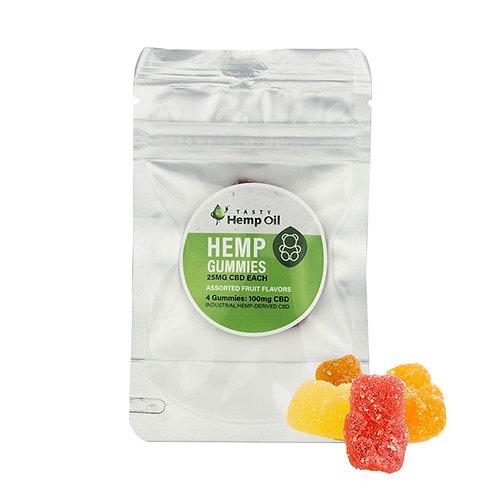 Tasty Gummies 4 Pack (25mg Each)
