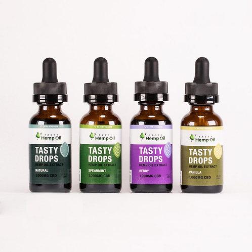 Tasty Hemp Oil - 1000mg Tasty Drops