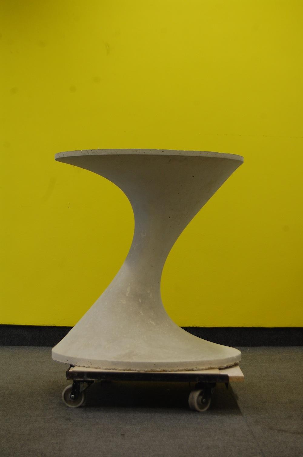 Curvy table