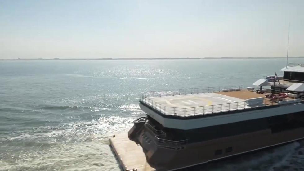 LA DATCHA on sea trials (online-video-cu