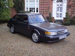 Grey Saab Turbo S 16 Valve