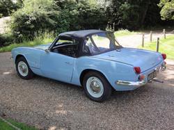 Mk3 Triumph Spitfire wedgewood blue