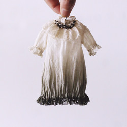 plant dyeing Circus dress