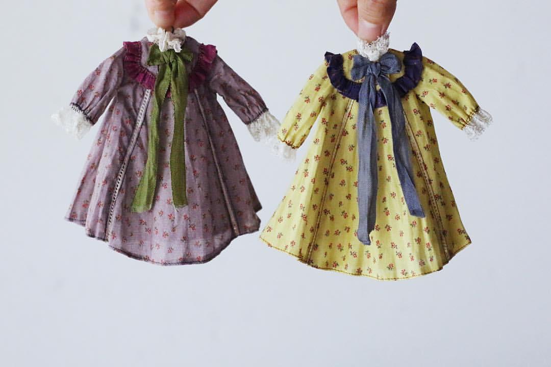 Hanon fabric dresses