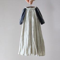 ユノアクルス少女サイズ リネン刺繍ワンピース