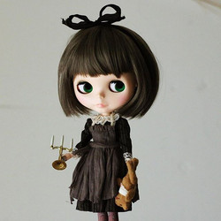 Hanon fabric Black Alice dress