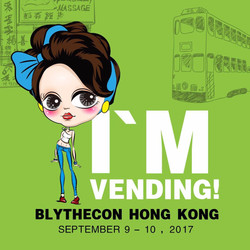 BlytheCon Fashion Tour Hongkng 2017