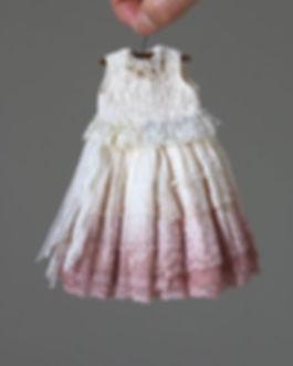 Hanon Plant dyed bijou dress