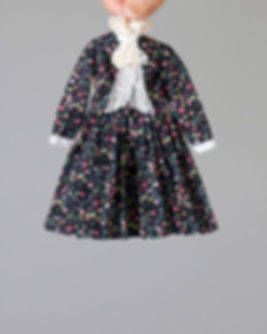 Hanon Flutteing Petals Dress