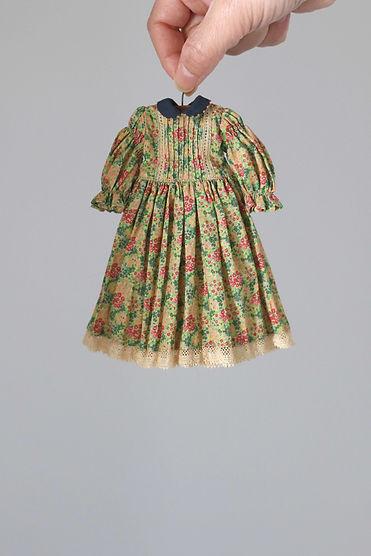 plant dyeing garden dress