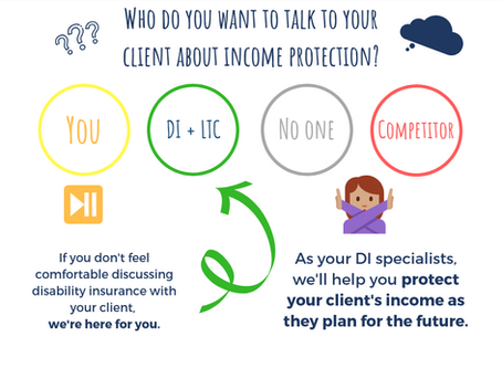 Who Do You Want Talking to Your Client About Disability Insurance?