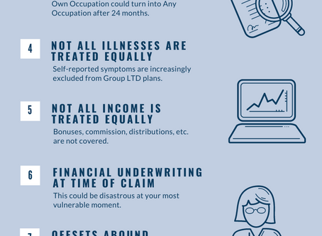 10 Reasons to Pass on the Group Long-Term Disability Plan