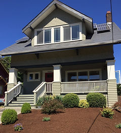 Location of Dr. Beckett's practice, based in a lovely two story house
