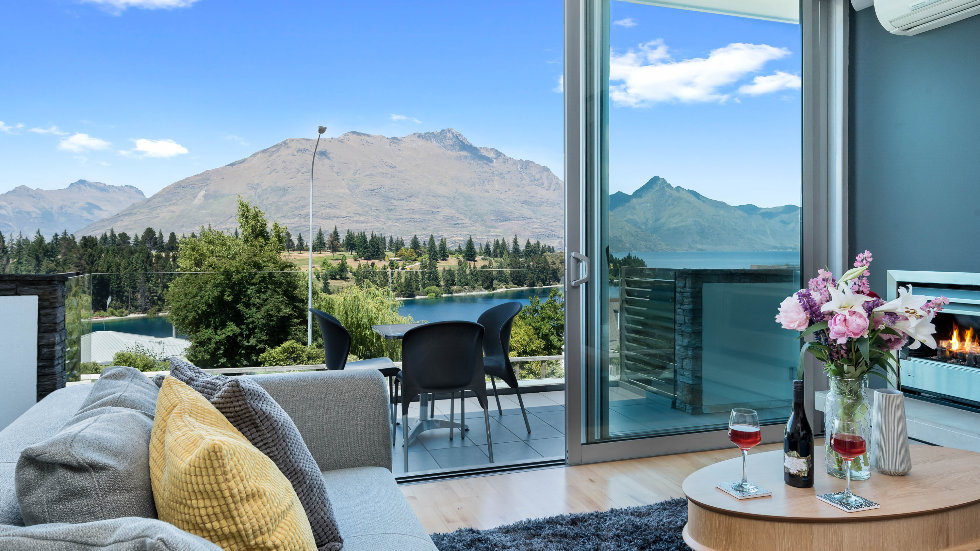 Queenstown lake view