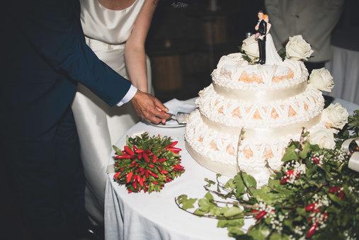 Claudio & Cristina - taglio della torta