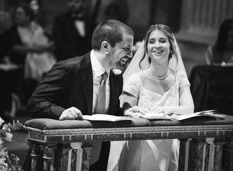 il sorriso degli sposi