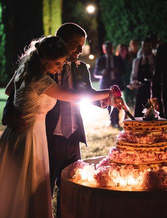 La torta serale
