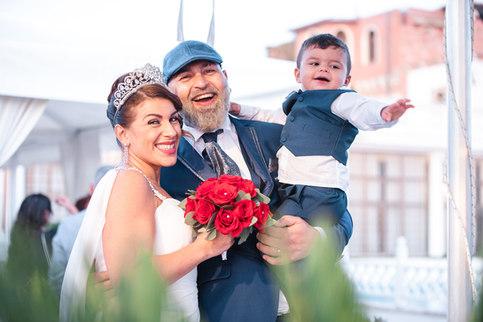 Family foto - matrimonio fiumicino