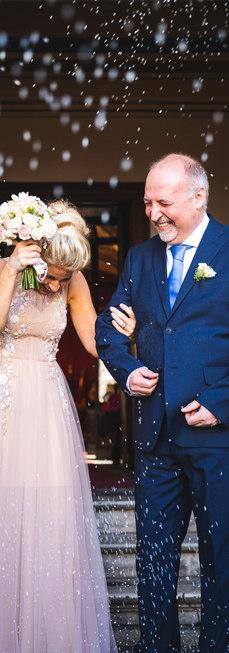 Lancio del riso - Matrimonio roma