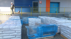 2. Shipment unloaded