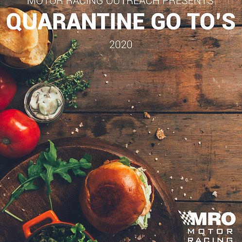 """Quarantine Go To's"" 2020 DIGITAL (PDF) Cookbook"