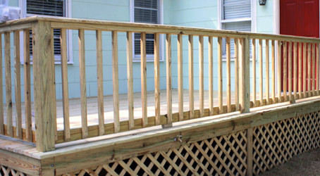 Decks and Different Handrail Options