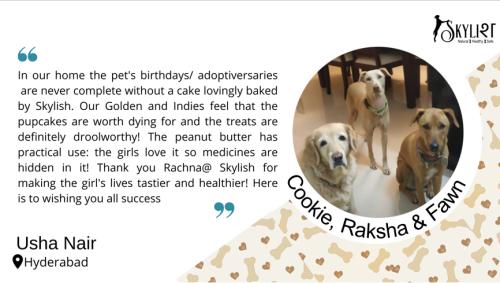 Cookie, Raksha and Fawn