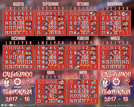 Calendario de LNFP Temp 2017/18