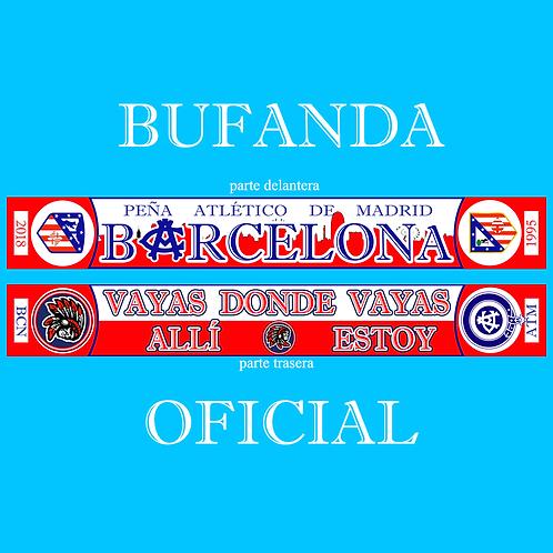 Bufanda oficial Peña ATM BCN