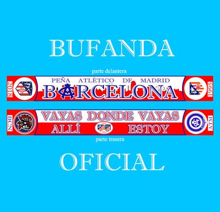 Bufanda Oficial #patmbarcelona
