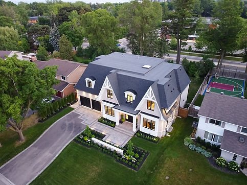 Focus View Aerial Photo, Oakville House