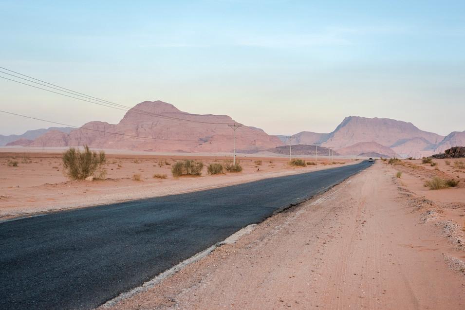Desert Sun in Jordan