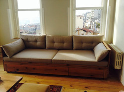 Custom Old Oak Sofa