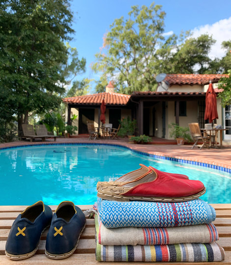 Poolside with Rafiks & Turkish Towels