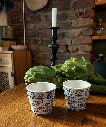 Handpainted Ceramic Cup Set
