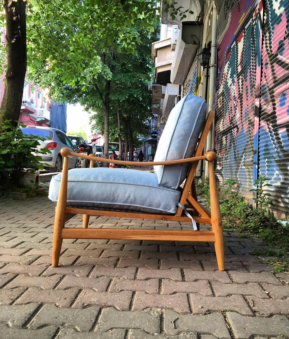 New Hane 78 Chair: The Bosphorus