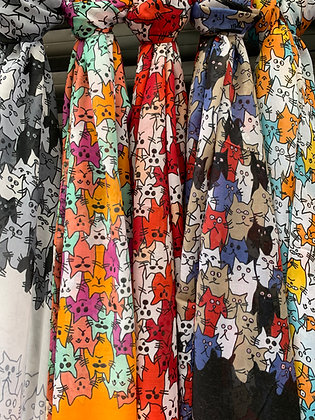 Catstanbul Scarves