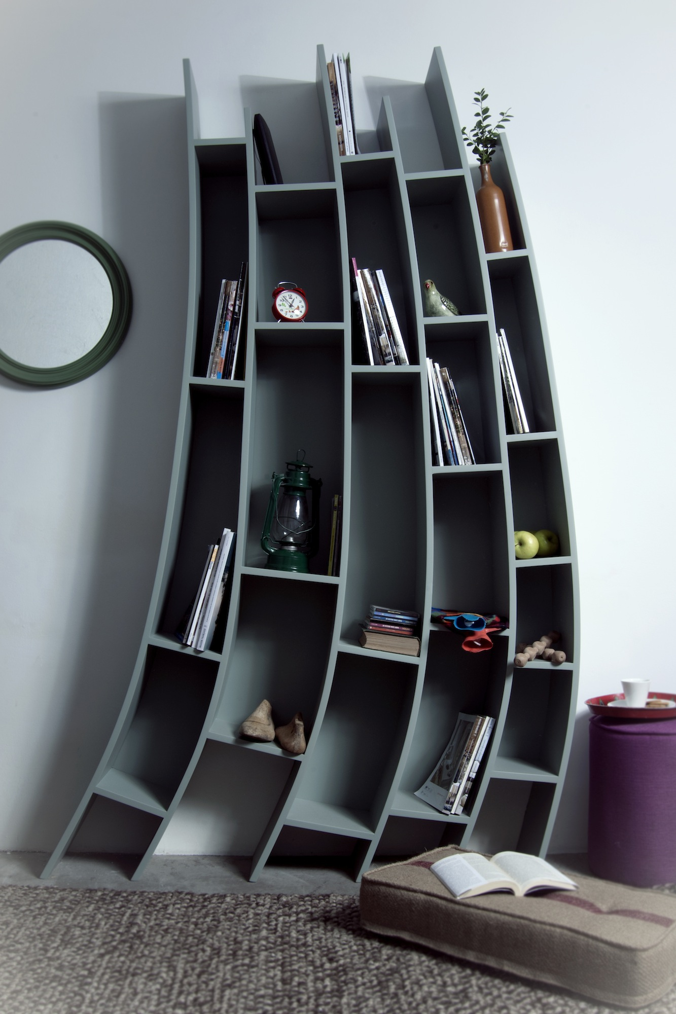 Turkish Modern Bookshelf