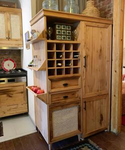 Wine Storage/Refrigerator Cupboard