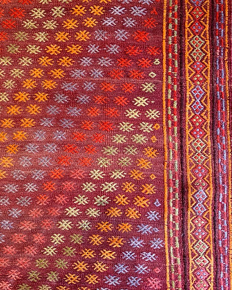 Vintage Anatolian Kilim 10'x6'2