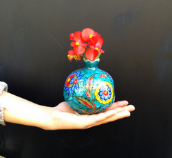 Turkish Modern Iznik Pomegranate
