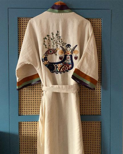 Hand Embroidered Kimonos