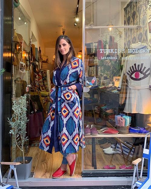 Handwoven Silk Kimonos