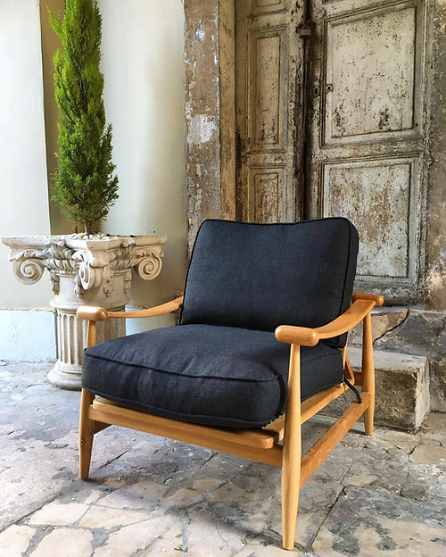 Inspired By The Gentle Curves Of The Bosphorus, This Is Turkish Modernu0027s  Most Comfortable Mid Century Style Chair. The Design Of The Arm Rests And  The Legs ...
