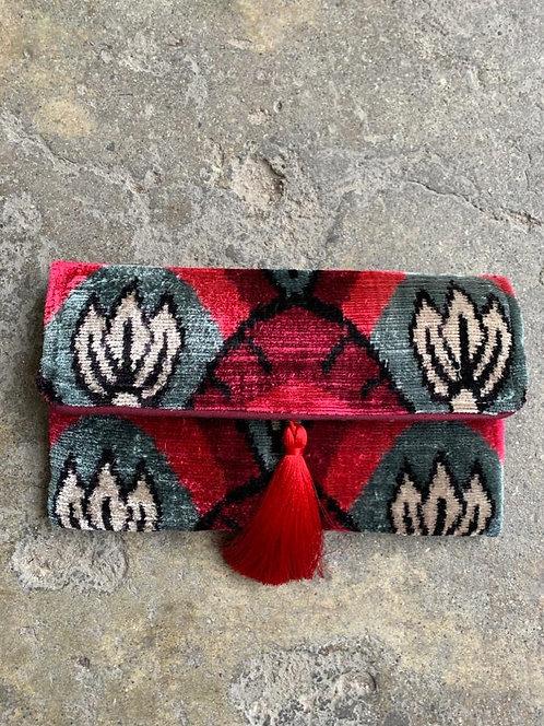 Handwoven Silk & Cotton Clutch
