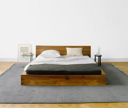 Turkish Modern Oak Bed